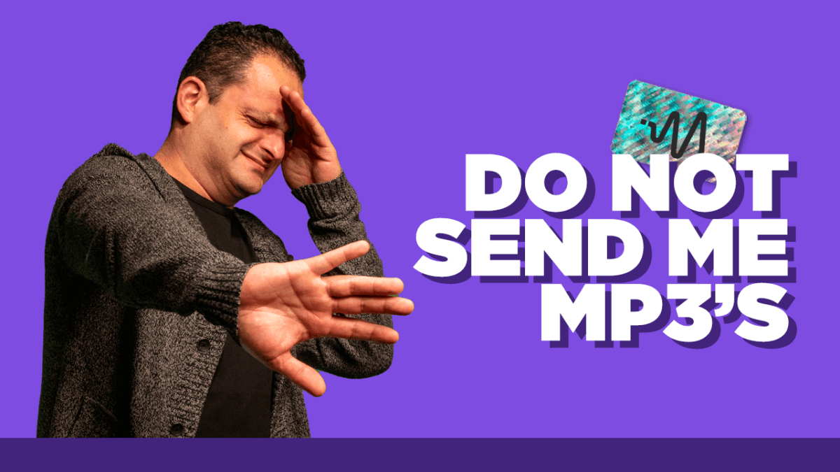 Do Not Send Me MP3s - MP3 Explanation
