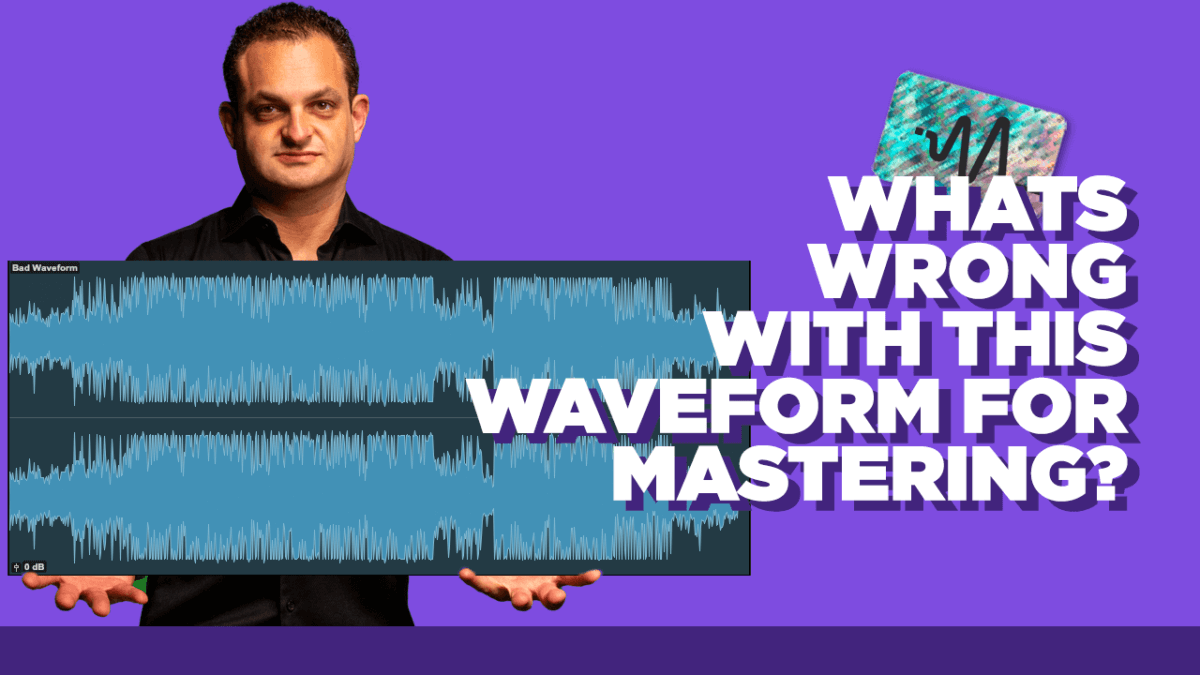 Music Mastering Problems - What's Wrong With This Waveform for Mastering?